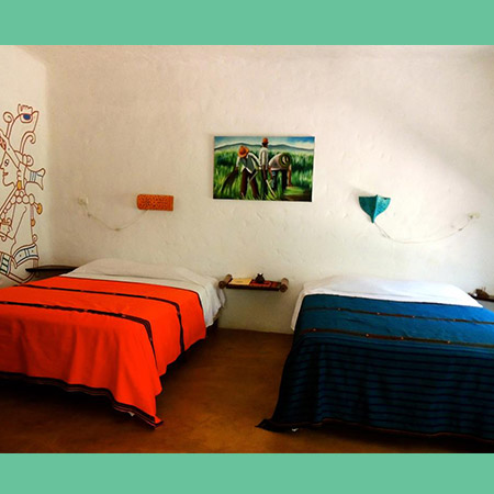 Mexican Cabina bedroom